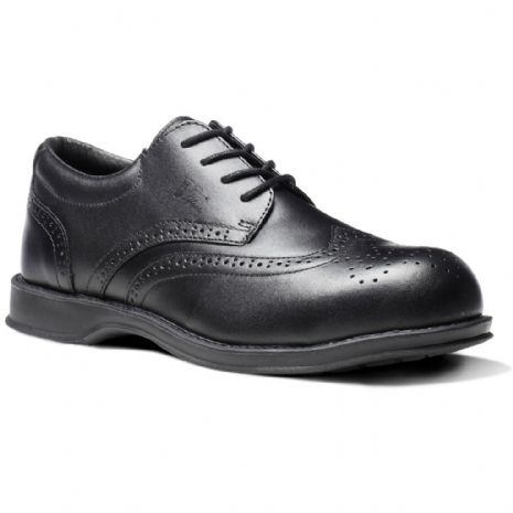 VC100 DIPLOMAT BLACK BROGUE SHOE